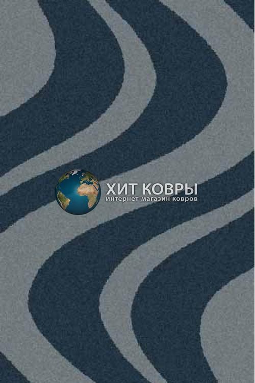 Российский ковер прямоугольный Platinum t617 морской волны