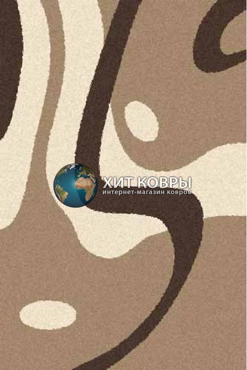 Российский ковер прямоугольный Platinum t619 кремовый d